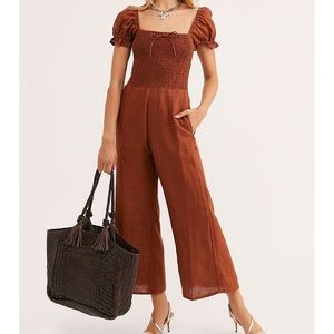 Free People Faithfull The Brand Jumpsuit L NEW